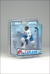 GUY LAFLEUR MCFARLANE FIGURE SERIES 18 QUEBEC NORDIQUES AWAY JERSEY (WHITE)