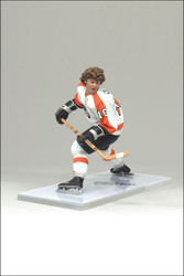BOBBY CLARKE MCFARLANE FIGURE LEGENDS SERIES 4 PHILADELPHIA FLYERS AWAY JERSEY (WHITE)