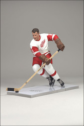 GORDIE HOWE MCFARLANE FIGURE LEGENDS SERIES 6 DETROIT RED WINGS AWAY JERSEY (WHITE)