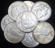 50 UNITED STATES COMMON DATE SILVER DOLLARS