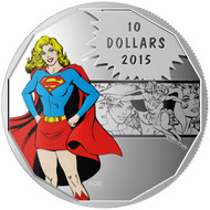 2015 $10 FINE SILVER COIN DC COMICS™ ORIGINALS: STRENGTH