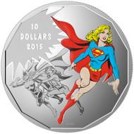 2015 $10 FINE SILVER COIN DC COMICS™ ORIGINALS: UNITY