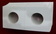 CARDBOARD 2x2 COIN HOLDER - 20 PACK - QUARTER SIZE