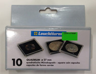 10-PACK SQUARE QUADRUM CAPSULES - 27mm