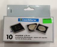10-PACK SQUARE QUADRUM CAPSULES - 28mm