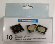 10-PACK SQUARE QUADRUM CAPSULES - 29mm