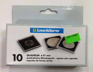 10-PACK SQUARE QUADRUM CAPSULES - 41mm