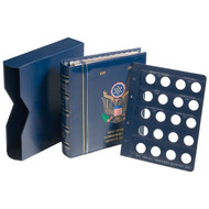 VISTA UNITED STATES COIN BINDER - STATEHOOD QUARTERS