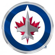 NHL WINNIPEG JETS AUTOMOTIVE TEAM LOGO EMBLEM