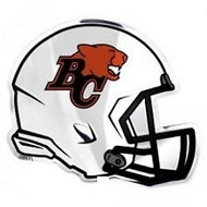 CFL B.C.LIONS AUTOMOTIVE TEAM LOGO EMBLEM