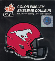 CFL CALGARY STAMPEDERS AUTOMOTIVE TEAM LOGO EMBLEM