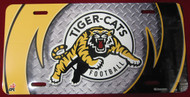 HAMILTON TIGER CATS AIRBRUSHED LICENCE PLATE