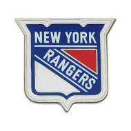 NEW YORK RANGERS NHL HOCKEY DIE CUT LOGO PIN
