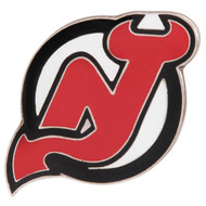 NEW JERSEY DEVILS NHL HOCKEY DIE CUT LOGO PIN