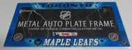 TORONTO MAPLE LEAFS NHL METAL AUTO LICENSE PLATE FRAME / COVER - AIRBRUSHED