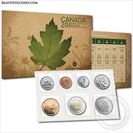 2011 CANADIAN UNCIRCULATED PROOF LIKE SET