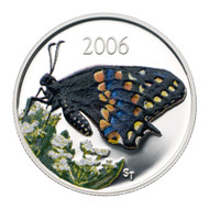 2006 BUTTERFLY SHORT TAILED SWALLOWTAIL 50-CENT COIN