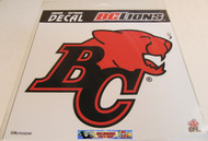BC LIONS LOGO STICKER DECAL - CFL FOOTBALL - 20 CM X 20 CM