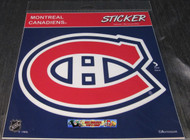 MONTREAL CANADIENS STICKER / DECAL - NHL HOCKEY - INDOOR / OUTDOOR - 20CM X 20CM