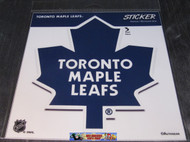 TORONTO MAPLE LEAFS STICKER / DECAL - NHL HOCKEY - INDOOR / OUTDOOR - 20CM X 20CM