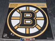 BOSTON BRUINS STICKER / DECAL - NHL HOCKEY - INDOOR / OUTDOOR - 20CM X 20CM