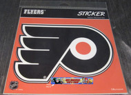 PHILADELPHIA FLYERS STICKER / DECAL - NHL HOCKEY - INDOOR / OUTDOOR - 20CM X 20CM