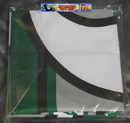 SASKATCHEWAN ROUGHRIDERS CFL POLYESTER FLAG  - 3 X 5 FEET - INDOOR/OUTDOOR - BRAND NEW