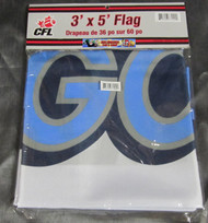 TORONTO ARGONAUTS CFL FOOTBALL POLYESTER FLAG  - 3 X 5 FEET - INDOOR/OUTDOOR - BRAND NEW