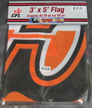 BC LIONS CFL FOOTBALL POLYESTER FLAG  - 3 X 5 FEET - INDOOR/OUTDOOR - BRAND NEW