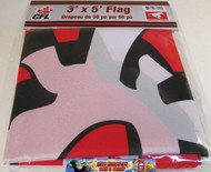 CALGARY STAMPEDERS CFL FOOTBALL POLYESTER FLAG  - 3 X 5 FEET - INDOOR/OUTDOOR - BRAND NEW