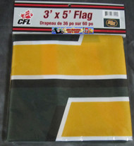 EDMONTON ESKIMOS CFL FOOTBALL POLYESTER FLAG  - 3 X 5 FEET - INDOOR/OUTDOOR - BRAND NEW