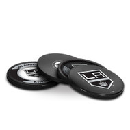 LA KINGS NHL HOCKEY PUCK COASTERS - 4-PACK