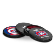 MONTREAL CANADIENS NHL HOCKEY PUCK COASTERS - 4-PACK