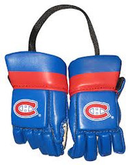 MONTREAL CANADIENS NHL HOCKEY MINI GLOVES - HANG FROM MIRROR