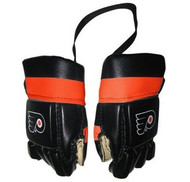 PHILADELPHIA FLYERS NHL HOCKEY MINI GLOVES - HANG FROM MIRROR