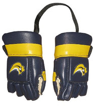 BUFFALO SABRES NHL HOCKEY MINI GLOVES - HANG FROM MIRROR