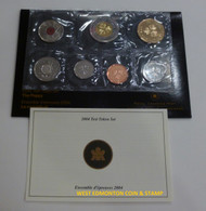 2004 THE POPPY TEST TOKEN SET. LIMITED TO 10000. ROYAL CANADIAN MINT.