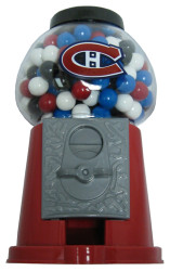 MONTREAL CANADIENS NHL HOCKEY GUMBALL COIN BANK