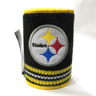 PITTSBURGH STEELERS NFL WOOL KOOZIE - BEVERAGE INSULATOR