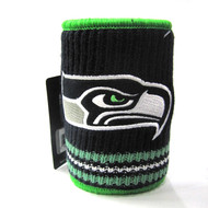 SEATTLE SEAHAWKS NFL WOOL KOOZIE - BEVERAGE INSULATOR