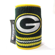 GREEN BAY PACKERS NFL WOOL KOOZIE - BEVERAGE INSULATOR