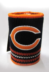 CHICAGO BEARS NFL WOOL KOOZIE - BEVERAGE INSULATOR