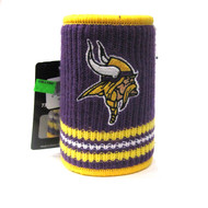 MINNESOTA VIKINGS NFL WOOL KOOZIE - BEVERAGE INSULATOR
