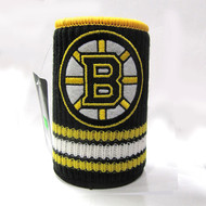 BOSTON BRUINS NHL WOOL KOOZIE - BEVERAGE INSULATOR
