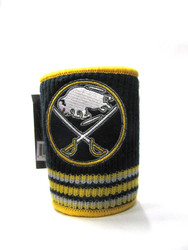 BUFFALO SABRES NHL WOOL KOOZIE - BEVERAGE INSULATOR