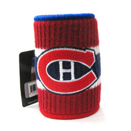 MONTREAL CANADIENS  NHL WOOL KOOZIE - BEVERAGE INSULATOR