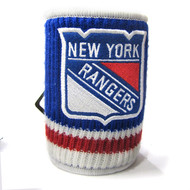 NEW YORK RANGERS  NHL WOOL KOOZIE - BEVERAGE INSULATOR