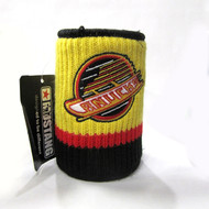 VANCOUVER CANUCKS  RETRO LOGO NHL WOOL KOOZIE - BEVERAGE INSULATOR