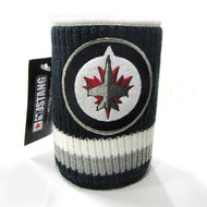 WINNIPEG JETS NHL WOOL KOOZIE - BEVERAGE INSULATOR