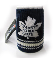 TORONTO MAPLE LEAFS RETRO LOGO NHL WOOL KOOZIE - BEVERAGE INSULATOR